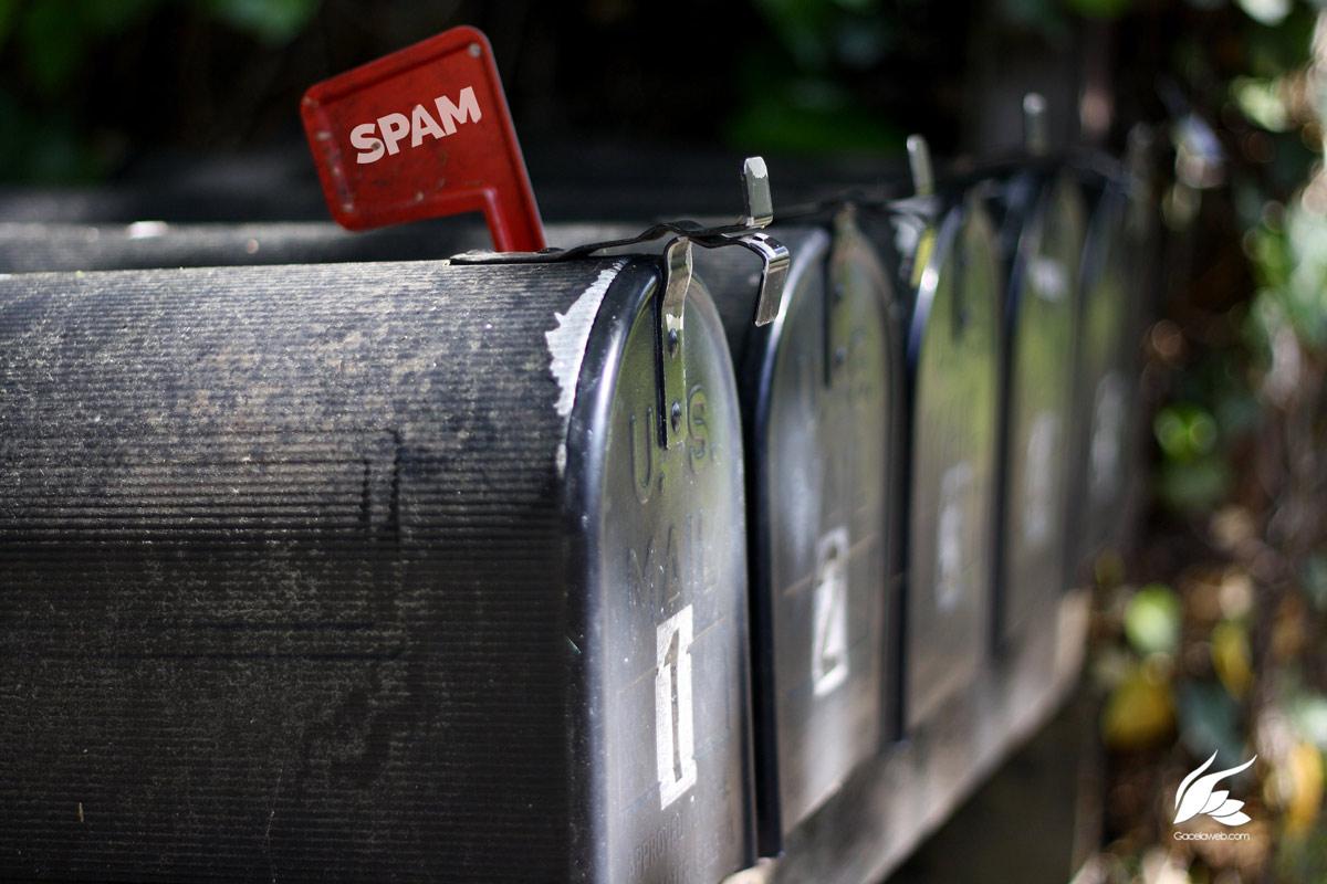 Correos llegan como Spam