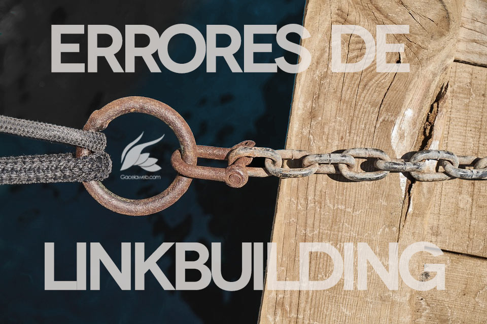 Errores de Linkbuilding