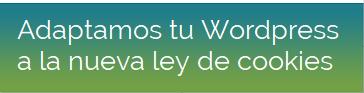 Adaptacion WordPress Nueva Ley Cookies