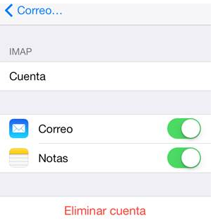 Configuracion de Correo Electronico en dispositivos Iphone