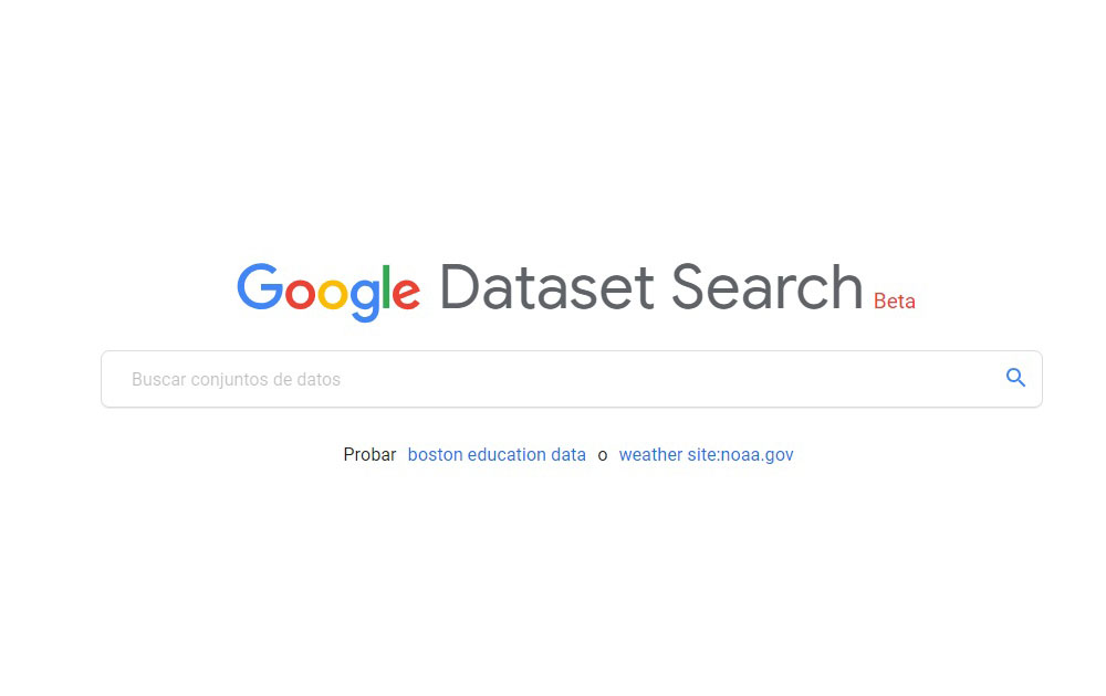 DataSet Search Expertos en SEO